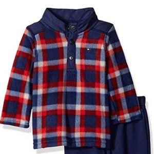 Tommy Hilfiger 2 pc infant boys sweat suit 6-9 mo